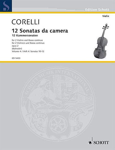 12 Trio Sonatas Op. 2, Nos. 10-12