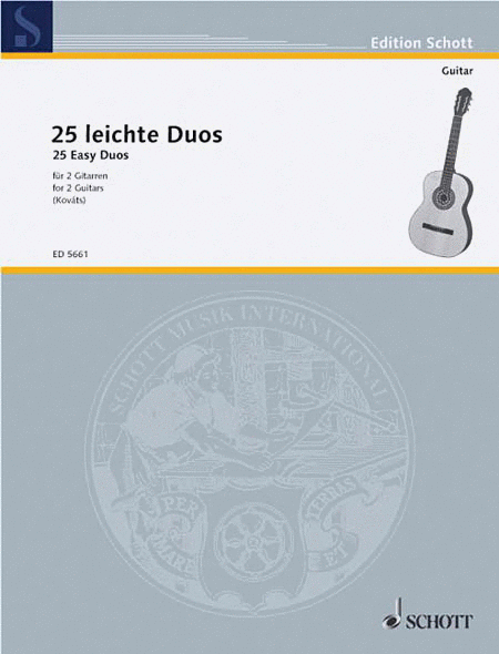 25 Easy Guitar Duets