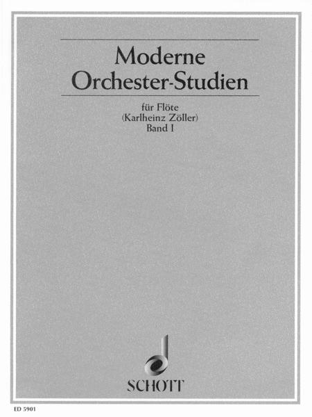 Modern Orchestral Studies for Flute - Vol. 1