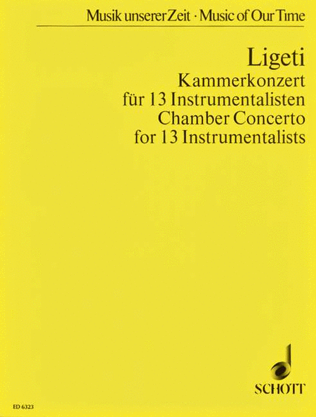 Chamber Concerto for 13 Players