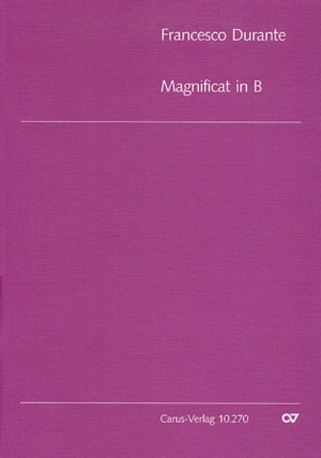 Magnificat in B