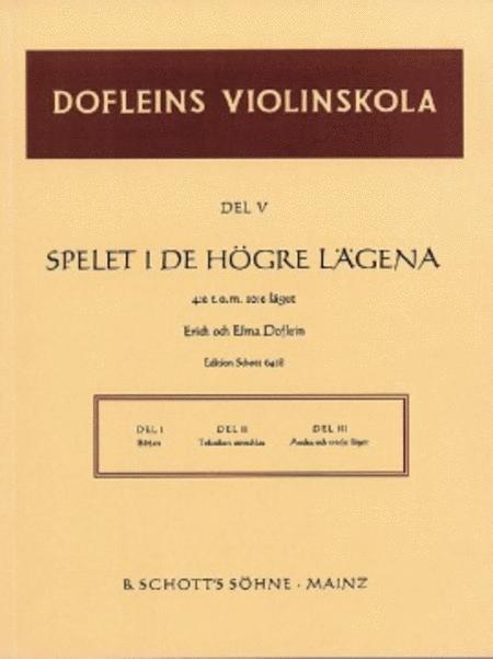 Doflein Violin Method Vol. 5 Swedish Edition