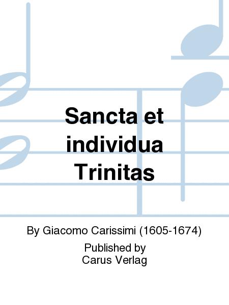 Sancta et individua Trinitas