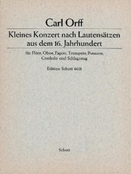 Little Concerto Score/parts