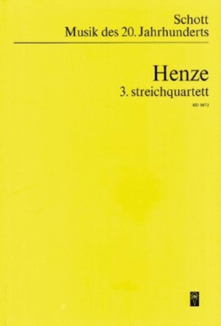 String Quartet No. 3 (1976)