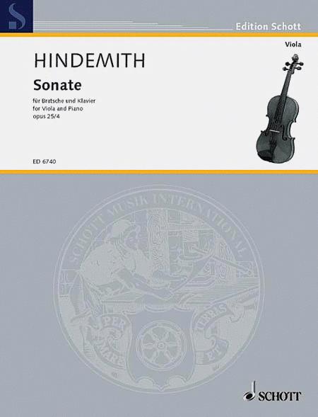 Sonata, Op. 25, No. 4 (1922)