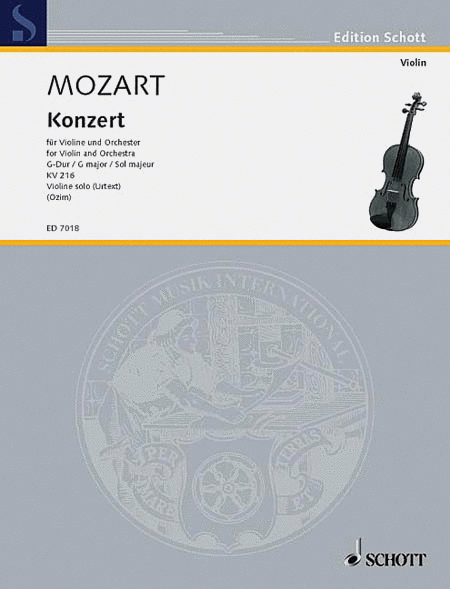 Concerto in G Major K. 216