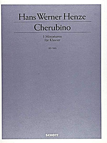 Cherubino/3 Miniatures For Piano