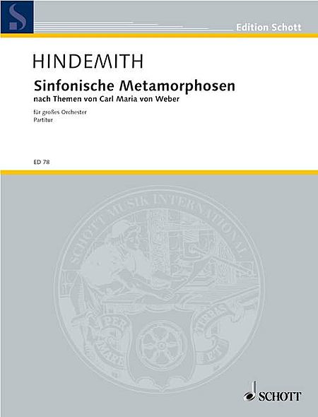Symphonic Metamorphosis of Themes by C. M. von Weber