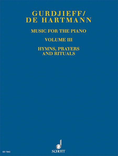 Music for the Piano Volume III