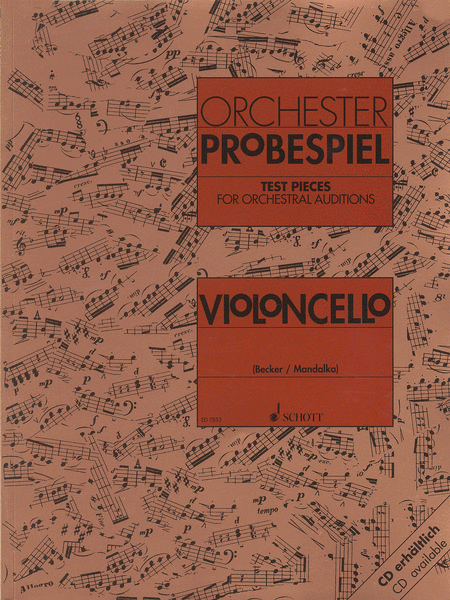 Test Pieces for Orchestral Auditions - Violoncello