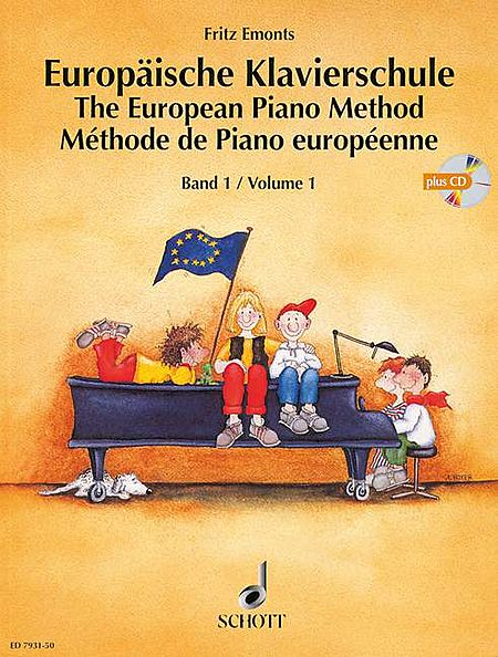 The European Piano Method w/CD - Volume 1