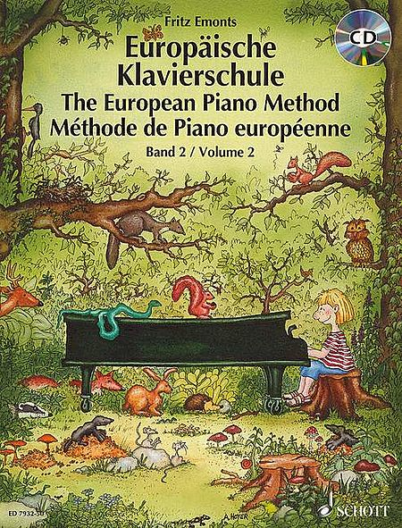 The European Piano Method w/CD - Volume 2