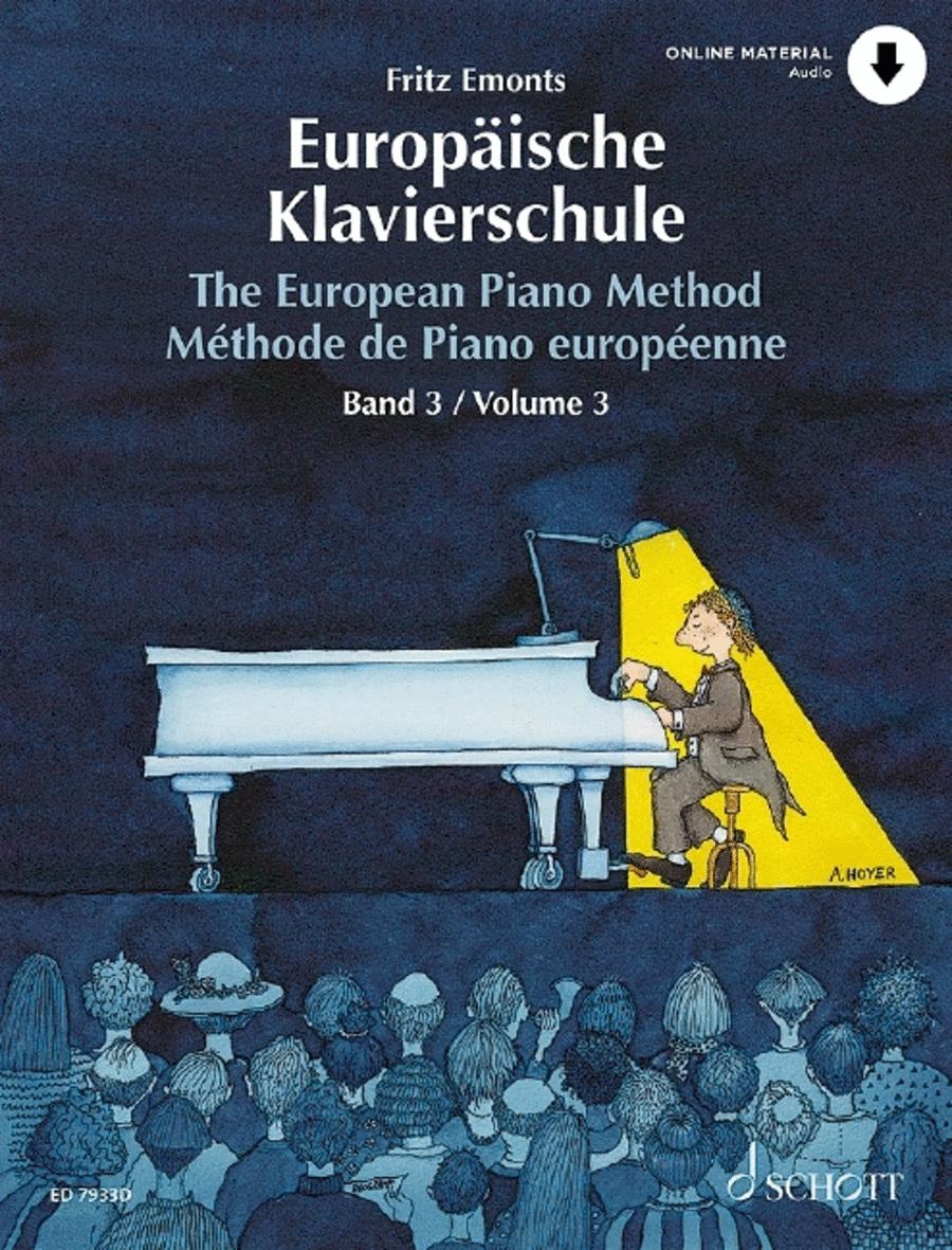 The European Piano Method w/CD - Volume 3