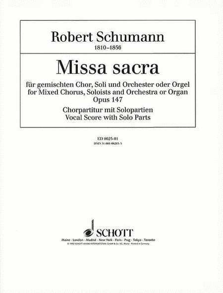 Missa Sacra Op. 147