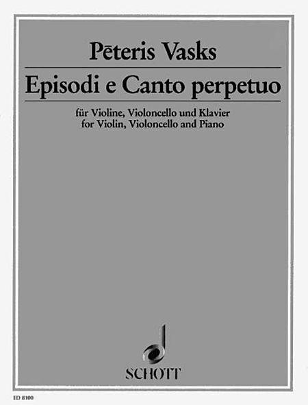 Episodi E Canto Perpetuo Pf Trio