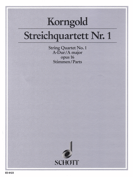 String Quartet No. 1 in A Major, Op. 16
