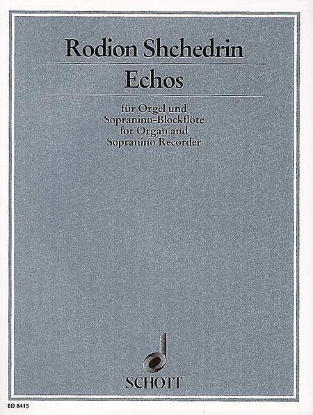 Echos Organ/sopranino Recorder