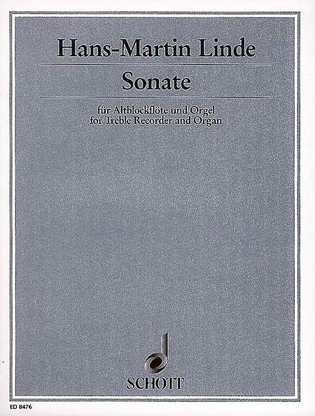 Sonata for Treble Recorder & Organ