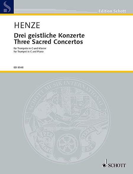 3 Sacred Concertos