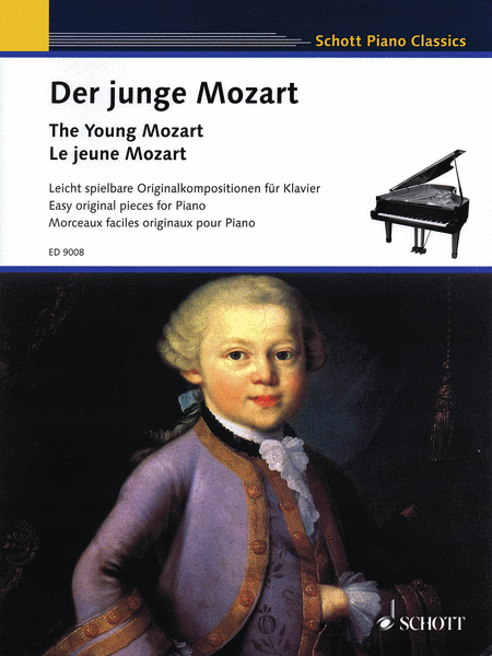 The Young Mozart - Easy Original Pieces for Piano