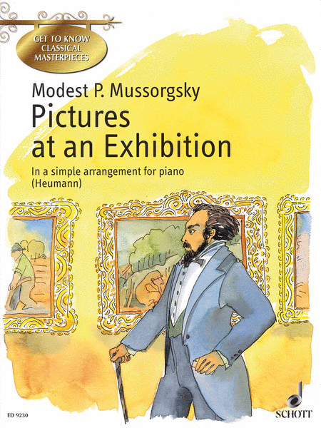 pictures at an exhibition sheet music by modest petrovich