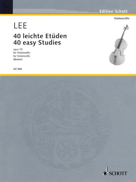 40 Easy Studies, Op. 70