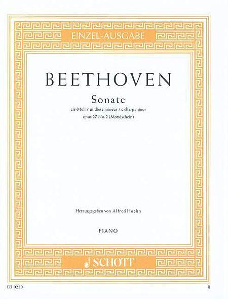 Sonata in C# Minor, Op. 27, No. 2 (Moonlight)