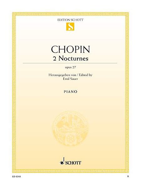 2 Nocturnes in C-sharp Minor and D-flat Major, Op. 27
