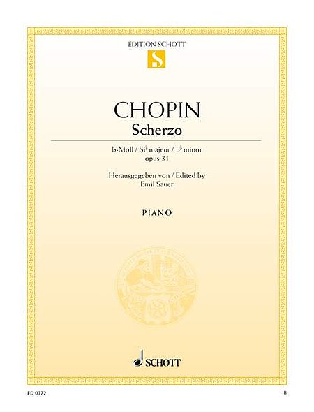 Scherzo in B-flat Minor, Op. 31