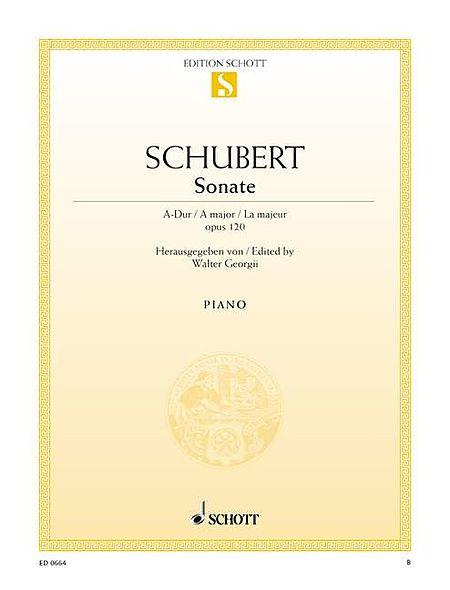 Sonata in A Major, Op. 120, D 664