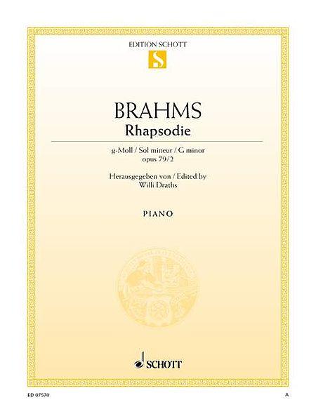 Rhapsody in G Minor, Op. 79, No. 2