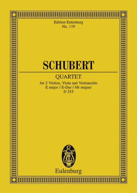 String Quartet in E Major, Op. 125, No. 2