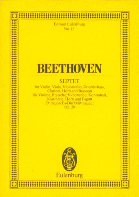 Septet in E flat Major, Op. 20
