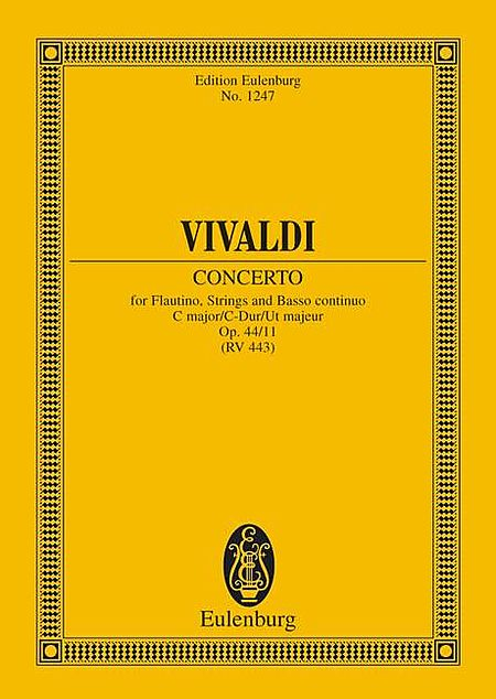Piccolo Concerto C Major RV 443, Op. 44, No. 11
