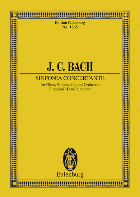 Sinfonia Concertante in F Major