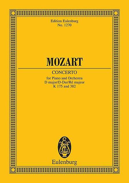 Concerto No. 5 in D Major with Rondo in D Major, K. 175/KV. 382
