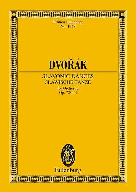 Slavonic Dances, Op. 72/1-4