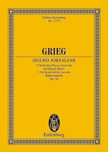 Sigurd Jorsalfar, Op. 56