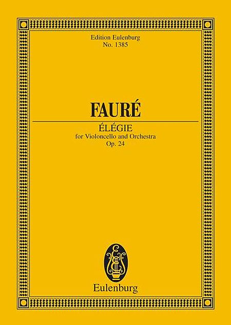 Elegie, Op. 24