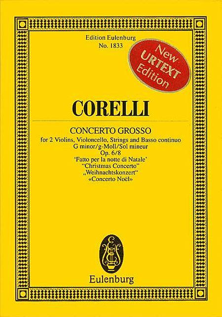 Concerto Grosso in G minor, Op. 6/8