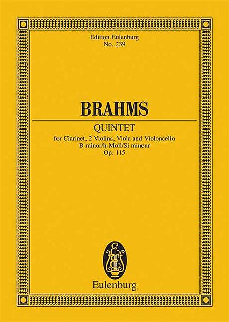 Quintet in B minor, Op. 115