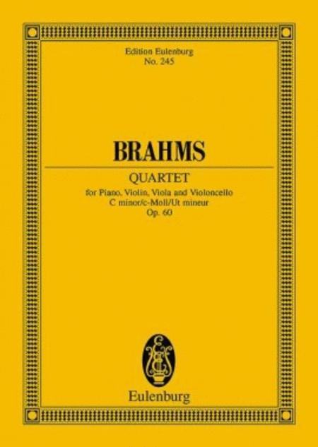 Piano Quartet in C Minor, Op. 60