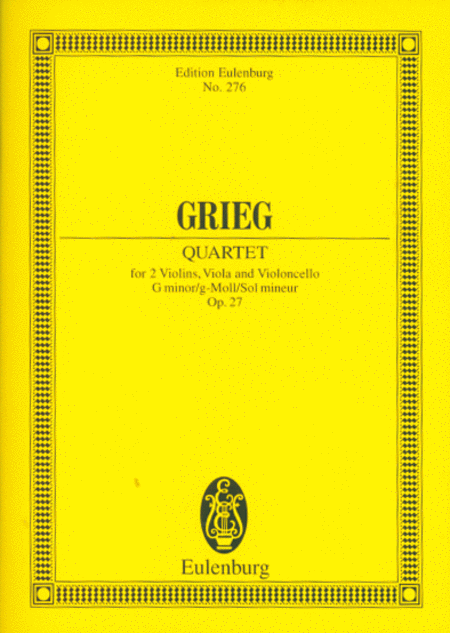 String Quartet in G Minor, Op. 27