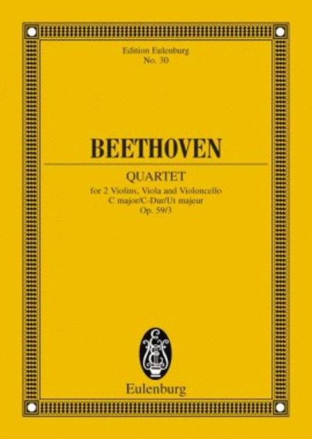 String Quartet in C Major, Op. 59/3