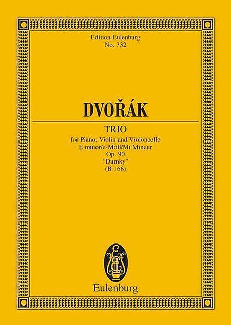 Piano Trio in E minor, Op. 90 (B 166) Dumky