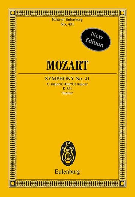 Symphony No. 41 in C Major, K. 551 Jupiter