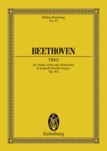 String Trio in D Major, Op. 9/2
