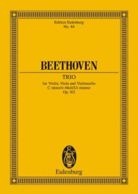 String Trio in C minor, Op. 9/3