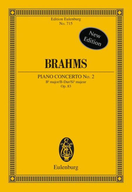 Piano Concerto No. 2, Op. 83 in B Major